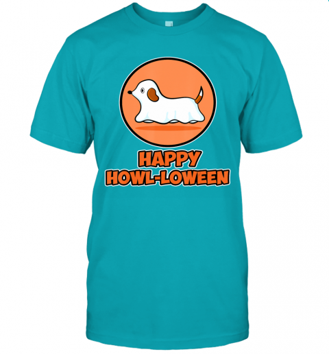Dog Ghost Halloween Party Shirt - Happy Howl-loween T-Shirt