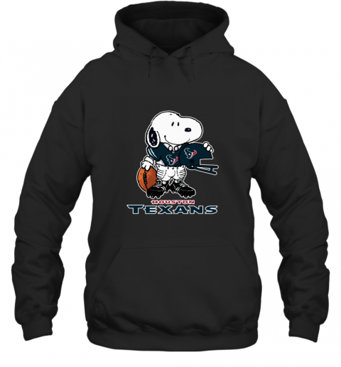 Snoopy Strong And Proud Houston Texans Player NFL Hoodie