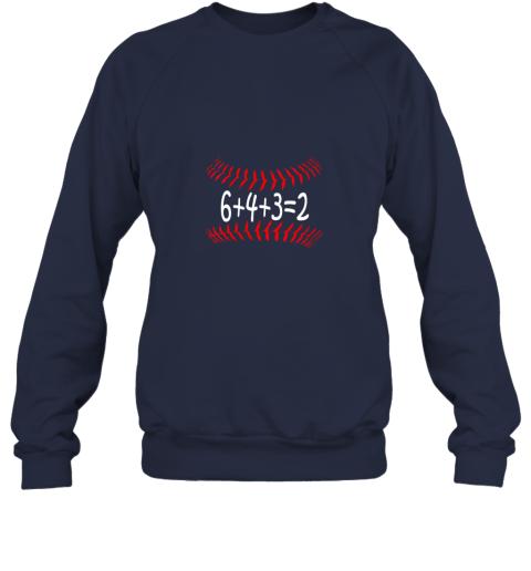 jxkr funny baseball 6432 double play shirt i gift 6 4 32 math sweatshirt 35 front navy