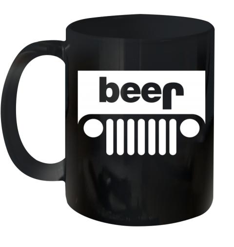 Jeep Beer Ceramic Mug 11oz