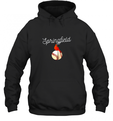 Springfield Red Cardinal Shirt For Baseball Lovers Hoodie