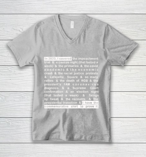 Jim Acosta V-Neck T-Shirt 3