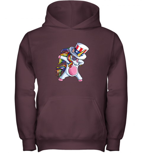 Day 4th Of July Dabbing Uncle Sam Gifts Youth Hoodie