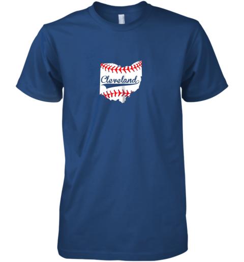 fykr cleveland ohio 216 baseball premium guys tee 5 front royal