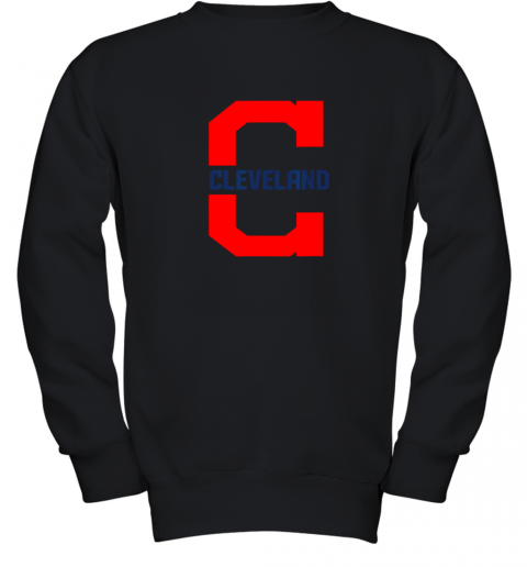 Cleveland Hometown Indian Tribe Vintage For MLB Fans Youth Sweatshirt