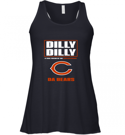 75j7 dilly dilly a true friend of the chicago bears flowy tank 32 front midnight
