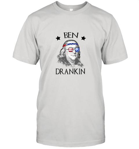 Day 4th Of July Ben Drankin Benjamin Franklin Unisex Jersey Tee
