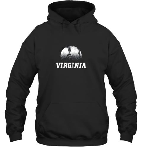 Virginia Baseball State Pride Team Sport Hoodie