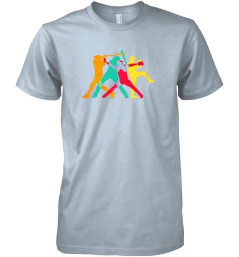 mg15 vintage baseball shirt gifts premium guys tee 5 front light blue