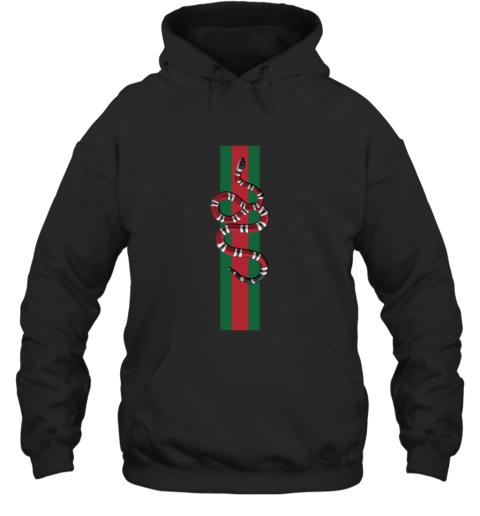 Gucci Snake Logo Hoodie