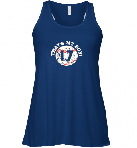 f1xo that39 s my boy 17 baseball player mom or dad gift flowy tank 32 front true royal