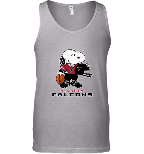 Snoopy A Strong And Proud Atlanta Falcons Player NFL Tank Top
