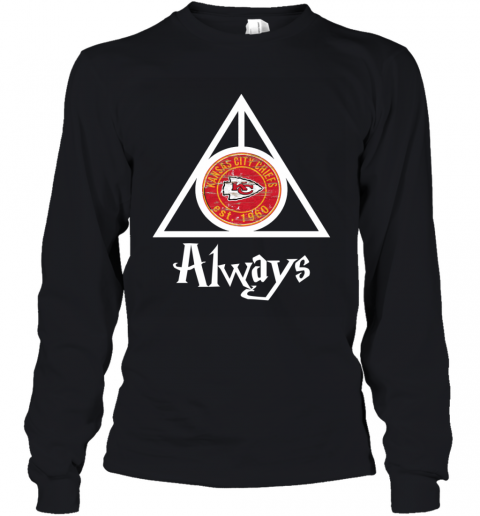 Always Love The Kansas City Chiefs x Harry Potter Mashup NFL Youth Long Sleeve