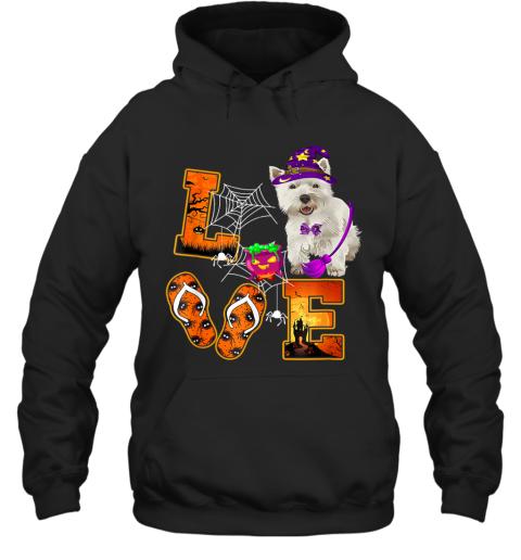Cairn Terrier Love Halloween Boo Dog Gifts Hoodie
