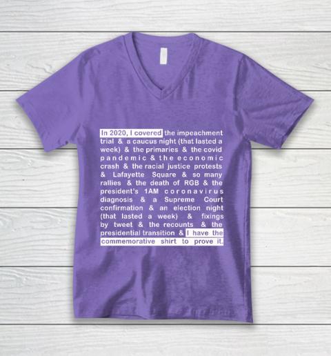 Jim Acosta V-Neck T-Shirt 8