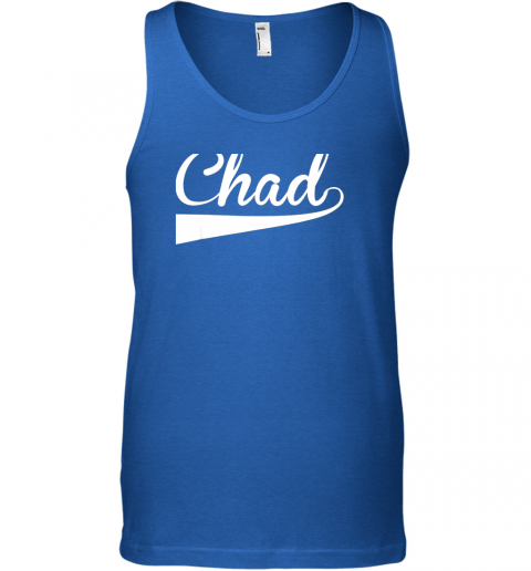 szqq chad country name baseball softball styled unisex tank 17 front royal