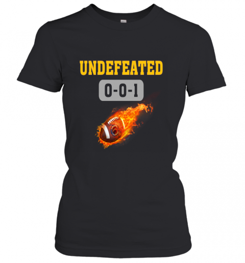 NFL LOS ANGELES CHARGERS LOGO Undefeated Women's T-Shirt