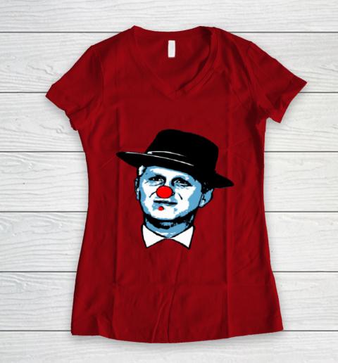 Barstool Rappaport Shirt Women's V-Neck T-Shirt 8