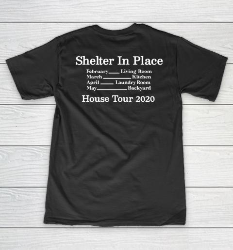 Peter Frampton Covid Stays Inside V-Neck T-Shirt 9