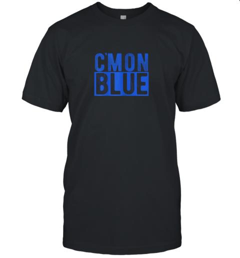 Cmon Blue, Umpire, Baseball Fan Graphic Lover Gift Unisex Jersey Tee
