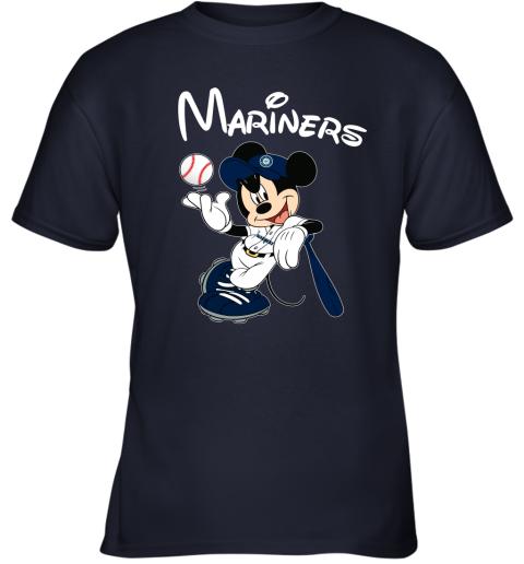 tq4g baseball mickey team seattle mariners youth t shirt 26 front navy