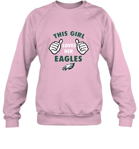 pqjm this girl loves her philadelphia eagles sweatshirt 35 front light pink