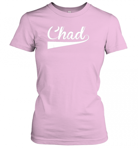 blvq chad country name baseball softball styled ladies t shirt 20 front light pink