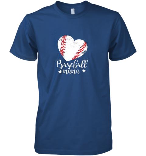 oyow funny baseball nana shirt gift for men women premium guys tee 5 front royal