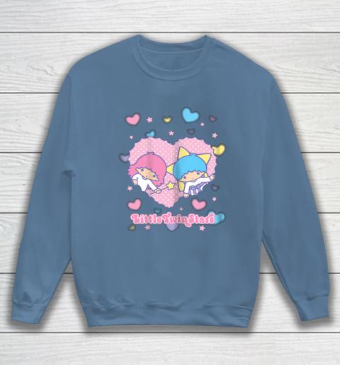 Little Twin Stars Retro Logo Valentine Sweatshirt 6