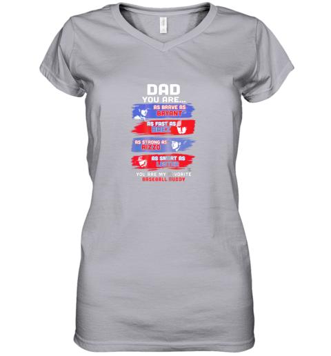 urlf javier baez baseball buddy shirtapparel women v neck t shirt 39 front sport grey