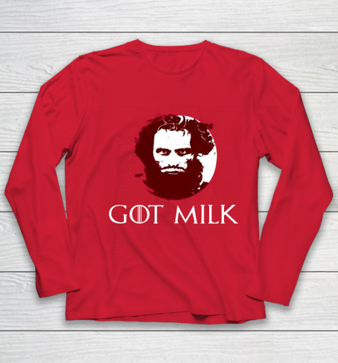 Got Milk Shirt Youth Long Sleeve 8