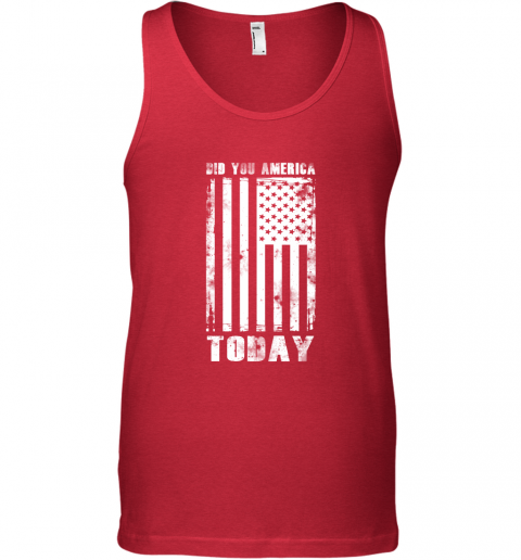 Did You America Today Tank Top