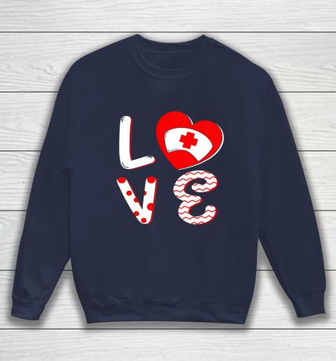 Medical Nurse Valentine Day Shirt Love Matching Sweatshirt 2