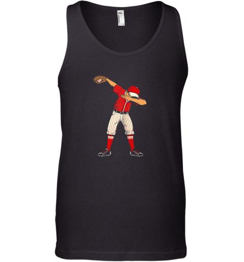 Dabbing Baseball Catcher Gift Shirt Men Boys Kids BZR Tank Top