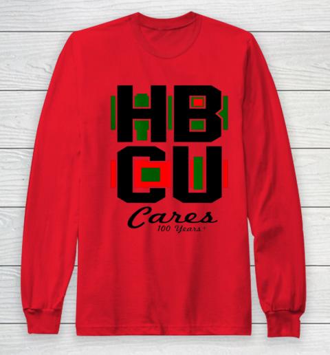 HBCU Cares College University Graduation Gift Black School Long Sleeve T-Shirt 7