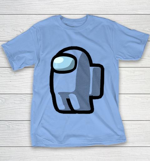 Imposter Among Gamer Us Impostor Sus Youth T-Shirt 7