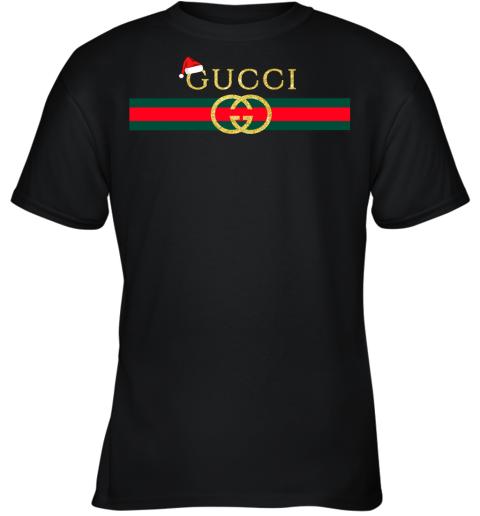 Gucci Logo Christmas Youth T-Shirt