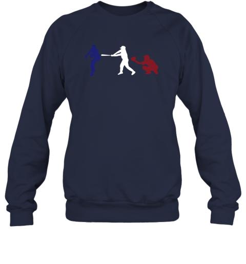 rfwr baseball usa flag american tradition spirit sweatshirt 35 front navy