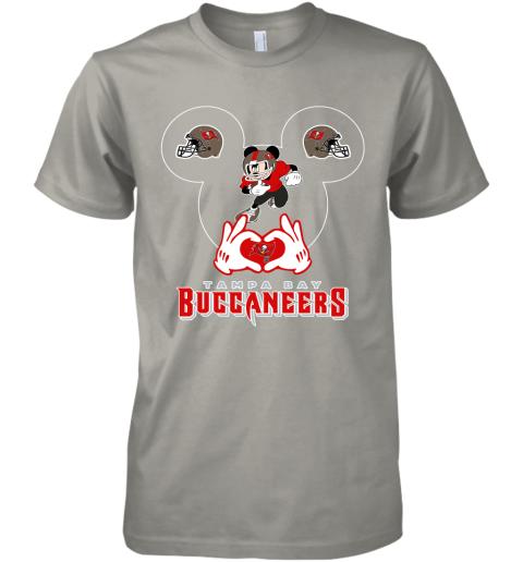 k8gz i love the buccaneers mickey mouse tampa bay buccaneers s premium guys tee 5 front light grey