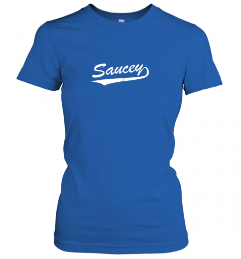 vxzi saucey swag baseball ladies t shirt 20 front royal