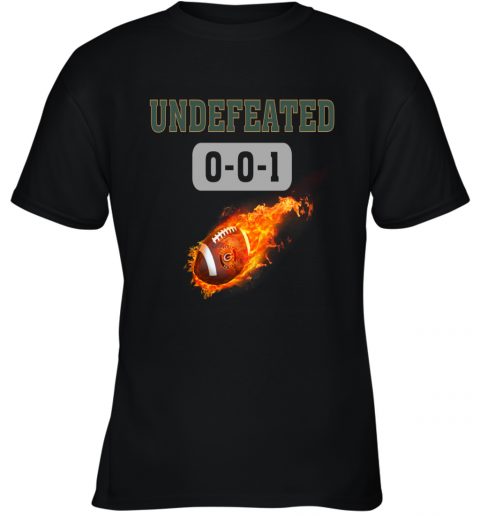 NFL GREEN BAY PACKERS LOGO Undefeated Youth T-Shirt