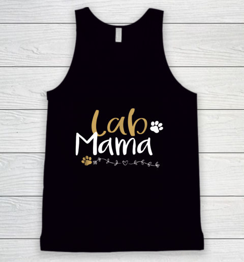 Dog Mom Shirt Lab Mom Lab Mama Labrador Retriever Shirt Cute Pet Lover Tank Top