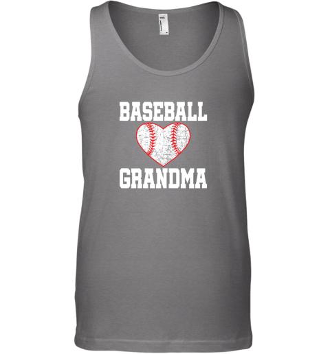 sfxs vintage baseball grandma funny gift unisex tank 17 front graphite heather