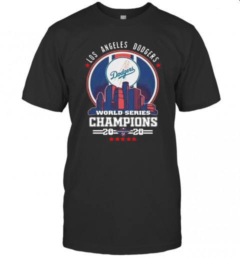 Los Angeles Dodgers World Series Champions 2020 Nation League T-Shirt