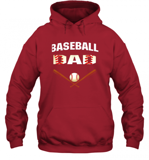 4sqk mens baseball dad shirtbest gift idea for fathers hoodie 23 front red