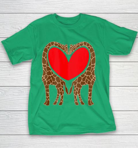 Cute Giraffe TShirt Fun Valentine Gift for Giraffe Lovers Youth T-Shirt 3