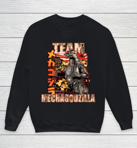 Team Mechagodzilla Japan Vintage Style Youth Sweatshirt