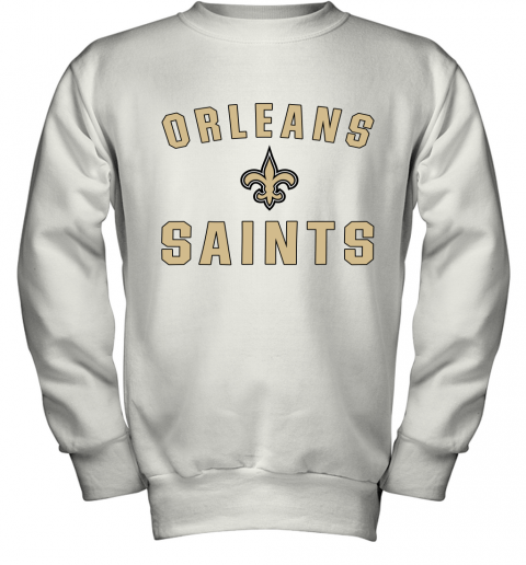 Orleans Saints NFL Pro Line By Fanatics Branded Gray Victory Youth Sweatshirt