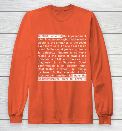 Jim Acosta Long Sleeve T-Shirt 3