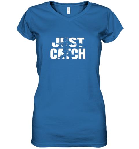 cppe just catch baseball catchers long sleeve shirt baseballisms women v neck t shirt 39 front royal